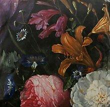 Textile London Italian Velvet Floral Printed