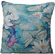 Textile London Water Lilly Cushion Cover Matthew