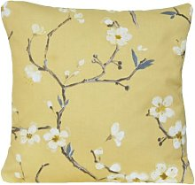 Textile London Yellow Flower Cushion Cover Floral