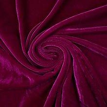 Textile Plaza Luxury Soft Plain Micro Velvet