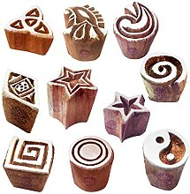 Textile Print Blocks Oriental Small Geometric