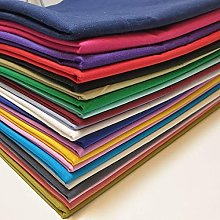 TEXTILE STATION 18 Meters Assorted Plain 100%