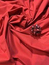 Textile Station 5 Meter (Janak- Red) 100% Cotton