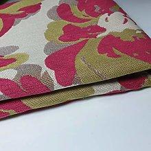 Textile Station Floral Cotton Rich Linen Fabric