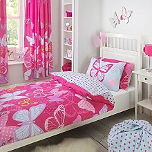 Textile Warehouse Butterfly Pink Polka Dot Girls