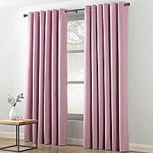 Textile Warehouse Indra Pink 90x90 Eyelet Ring Top
