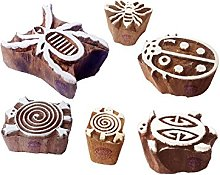 Textile Wood Blocks Popular Bug Insect Shape