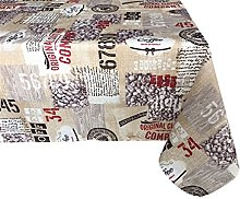 Textiles el Cid Coffee Tablecloth Stain-Resistant