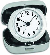 TFA Dostmann Analog Travel Alarm Clock, Plastic,