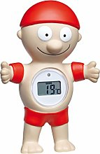 TFA Dostmann Bath Thermometer, Plastic, red,