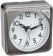TFA Dostmann Electronic Analogue Alarm Clock with