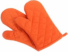 TFENG Cotton Oven Mitts Kitchen Baking Gloves Soft