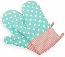 TFENG Oven Gloves Cotton Kitchen Baking Gloves