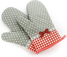 TFENG Oven Gloves Cotton Quilted Kitchen Cooking