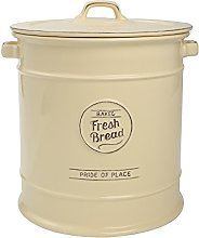 TG Pride of Place Bread Crock Bin Ceramic Cream