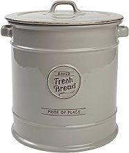 TG Pride of Place Bread Crock Bin Ceramic Grey