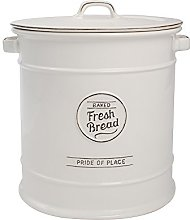 TG Pride of Place Bread Crock Bin Ceramic White