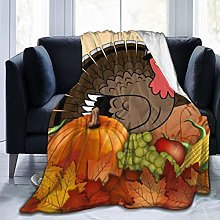 Thanksgiving Greeting Cards Ultra-Soft Fleece