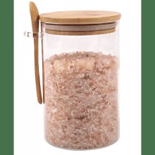 That Pantry - Extra Large Glass Bamboo Jar With