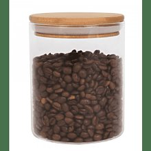That Pantry - Glass Jar With Bamboo Lid 0 8 L