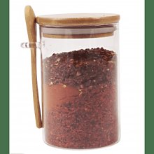 That Pantry - Medium Glass Jar With Bamboo Lid And