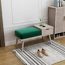 THBEIBEI Storage Benches Storage Bench Wood with