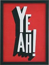 The Art Group Edu Barba YEAH! Framed Print