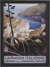 The Art Group Piddix Italian Riviera Framed Print