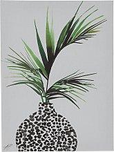 The Art Group Summer Thornton Leaf Canvas
