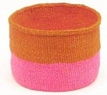 The Basket Room - Kali Orange Neon Pink Duo Colour