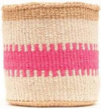 The Basket Room - Kuzuia Fluoro Pink And Natural