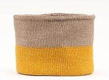 The Basket Room - Orange and Grey Ghaflo Woven
