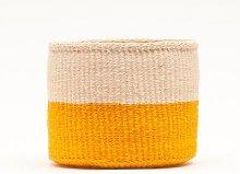 The Basket Room - Rukia Basket Orange Colour Block