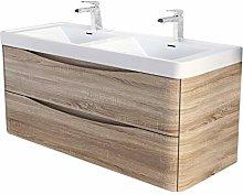 The Bath People Eaton Wall Hung Vanity Unit -