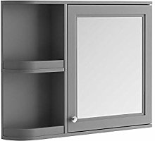 The Bath People Rowan Mirrored Storage Cabinet -