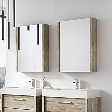 The Bath People Tila Single Mirrored Bathroom