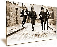 The Beatles Canvas Wall Art Picture Print 76cmx50cm