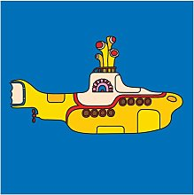 The Beatles Submarine Canvas Print (One Size)