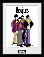 The Beatles Yellow Submarine Framed Print Wall Art