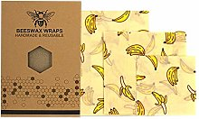 The Best Beeswax Package, Bee Wax Food Wrap Sealed