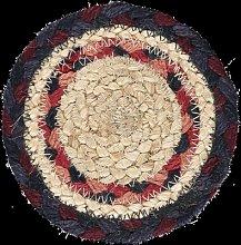 The Braided Rug Company - Fairisle Jute Coasters