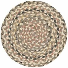 The Braided Rug Company - Granite Jute Placemats