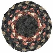 The Braided Rug Company - Marble Jute Coasters Set