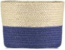 The Braided Rug Company - Medium Calypso Blue Jute