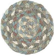 The Braided Rug Company - Seaspray Jute Coasters