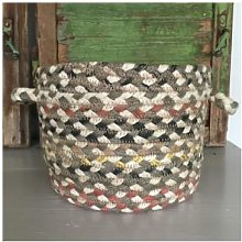The Braided Rug Company - Small Granite Organic