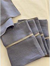 THE BROWNHOUSE INTERIORS - Cornflower Blue Linen