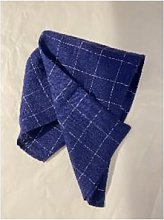 THE BROWNHOUSE INTERIORS - Navy Linen Napkin with