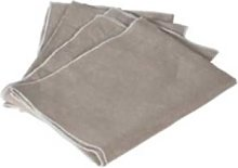 THE BROWNHOUSE INTERIORS - Set of 4 Natural Linen