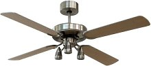 The ceiling fans are:  1) Cheap, if compared to
